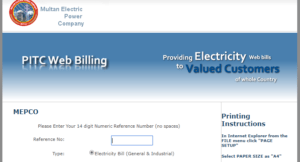 MEPCO Online Bill, MEPCO Online Bill | How to Check, Print and Download Your Bill