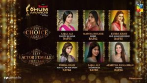 Kashmir 6th HUM Awards