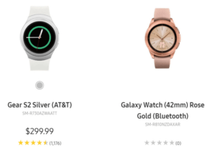 Samsung Galaxy Watch, Images of Samsung Galaxy Watch Leaked Accidentally on Its Website