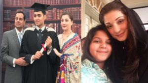 Maryam Nawaz with Graduated Son