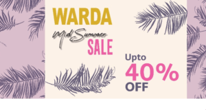 Mid-Summer Sale 2018, Mid-Summer Sale 2018 at Edenrobe, Warda, Breakout, and Breeze