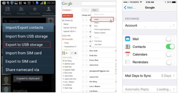 data, How to Transfer Data from Android to iPhone X/8/7/6S/6 (Plus)
