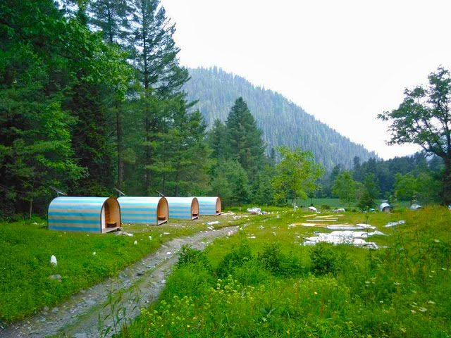 Camping in Pakistan, Best Tourist Destinations for Camping in Pakistan: Kaghan, Azad Kashmir & Gilgit