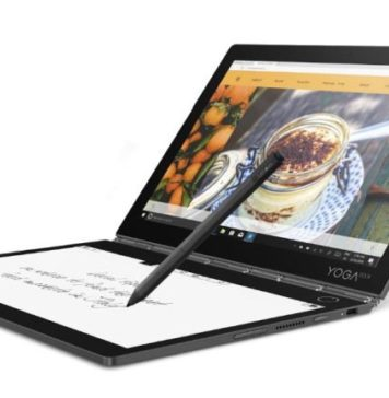 Lenovo Dual Screen laptop