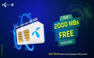 Telenor New Sim Offer, Telenor New Sim Offer – Buy New Sim and Get Daily Incentives for 3 Months