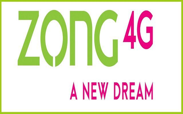 Zong Data SIM 4G Packages - 2019