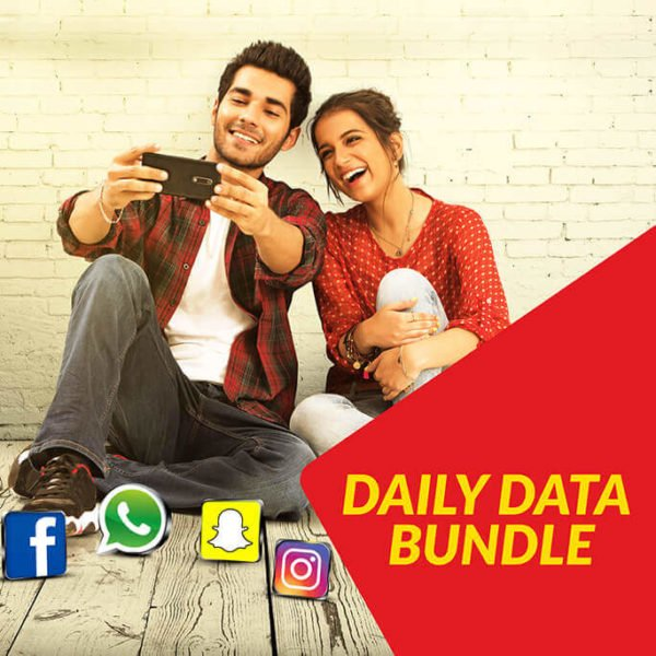 Jazz Daily Data (Peak-Off Peak) Internet Bundle | 1100 MB in just Rs. 20