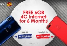 Jazz 6GB Free Internet Data