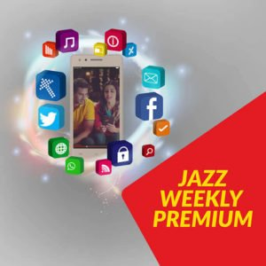 Jazz Weekly Premium Internet Bundle | 2000 MB in just Rs. 110
