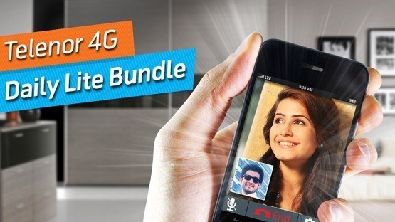 Telenor 4G Lite Daily Internet Bundle | 50 MB in just Rs. 12
