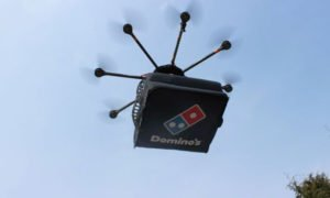 Drone Delivery Service, Enjoy a Domino's Pizza through Drone Delivery Service in Pakistan