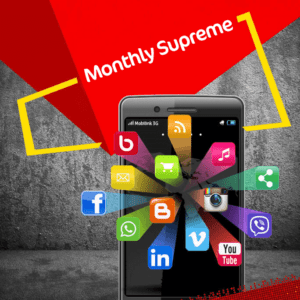 Jazz Monthly Supreme Internet Bundle | 12000 MB in just Rs. 750