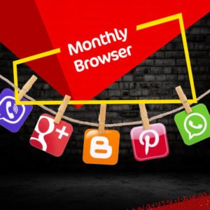 Jazz Monthly Browser Internet Bundle | 2100 MB in just Rs. 160
