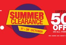 J. Almirah Summer Clearance Sale 2018