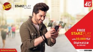 Starzplay, Jazz Weekly Mega Plus Offer | Free Access to Starzplay for 7 Days