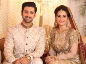 Aiman Khan, Pakistani Actors Muneeb Butt and Aiman Khan got Married| Beautiful Couple
