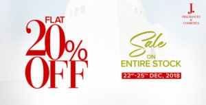 Jinnah Day Sale 2018