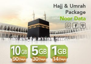 Best Zain Call and Internet Packages for Hajj & Umrah