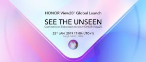 Honor View 20, Honor View 20 Smartphone with 48MP Rear & 4000mAh| Complete Details