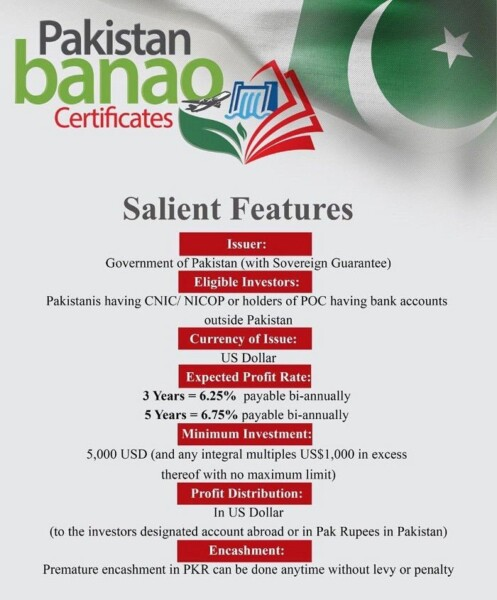Pakistan Banao Certificates, Pakistan Banao Certificates Launched for Overseas Pakistanis