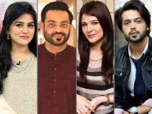 showbiz, The Showbiz Celebrities are banned for Hosting in Ramzan Transmissions