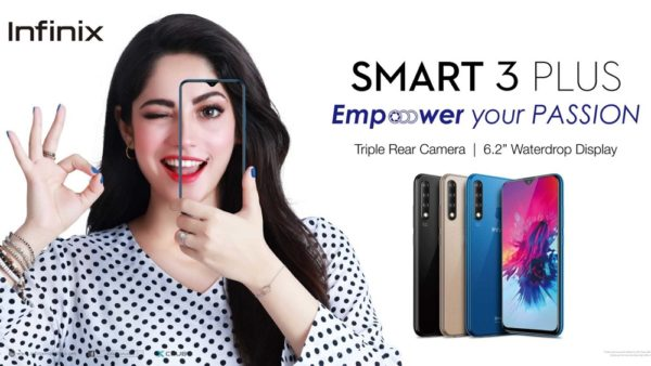 , Infinix Smart 3 Plus Available in Retail Market in Pakistan for Rs.16999 /-