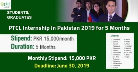 PTCL Internship 2019, PTCL Internship 2019 in Pakistan for 5 Months Duration| Complete Details