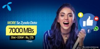Telenor 4G Weekly Ultra Offer