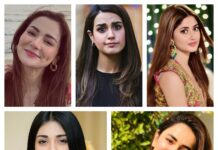 most popular Pakistani actresses 2020